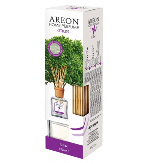 Odorizant casa/birou AREON HOME PERFUME STICKS 150 ML LILAC