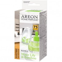 AREON ODORIZANT  REFILL-HOME PERFUME ELECTRIC WATER LILY & BAMBOO