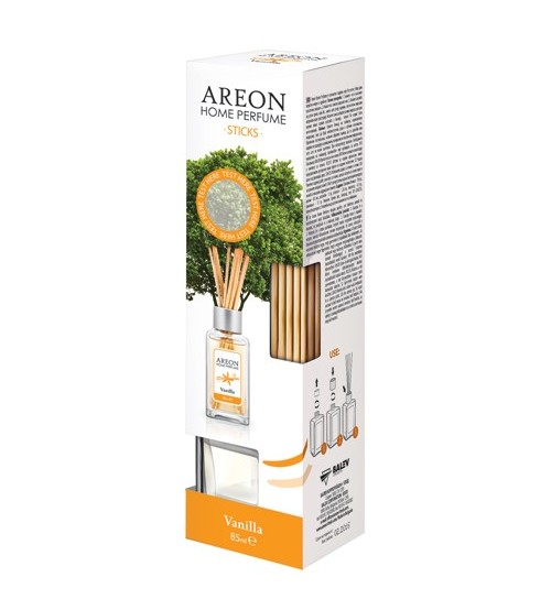 Odorizant casa/birou AREON HOME PERFUME STICKS 85 ML VANILLA