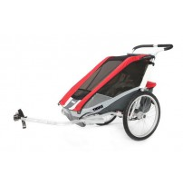 Carucior Thule Chariot Cougar1+Cycle,Red 14-X