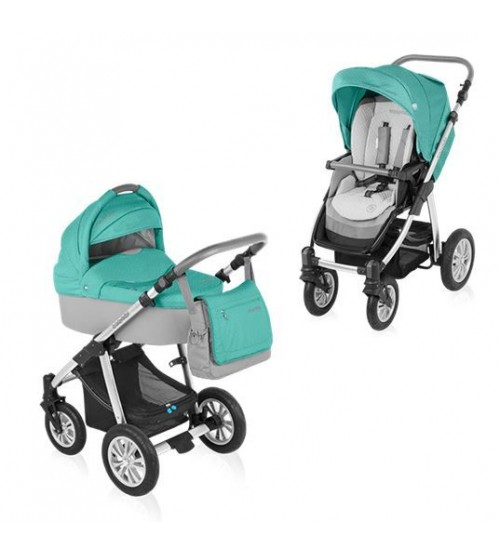 Baby Design Dotty 05 turquoise 2015 - Carucior 2 in 1